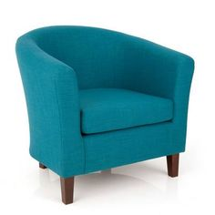 Harmony Poppy Teal Fabric Tub Chair | Furniture | The Range £129.99
