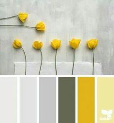 Ideas Bath Room Paint Colors Green Design Seeds For 2019 Design Seeds, Colour Pallette, Colour Schemes, Paint Schemes, Yellow Color Palettes, Color Schemes With Gray, Color Combos, Pantone Colour Palettes, Grey Palette