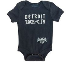 PURE DETROIT I Detroit Rock City onesie