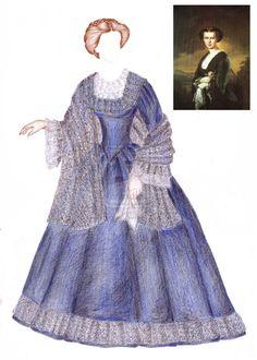 Empress Elisabeth (young) doll clothing by maya40.deviantart.com on @deviantART