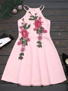 GET $50 NOW | Join Zaful: Get YOUR $50 NOW!https://m.zaful.com/floral-patched-cami-flare-dress-p_288894.html?seid=5638248zf288894