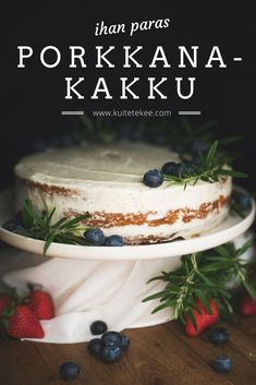 Baking Recipes, Cake Recipes, Something Sweet, Desert Recipes, No Bake Cake, Sweet Tooth, Food And Drink, Sweets, Deserts