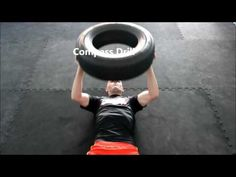 Top 36 great Car Tire Bootcamp Exercises. Total Body Fitness Work-Out - YouTube