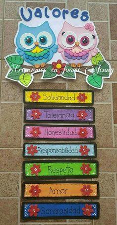 Murales de escuelas #manualidadesinfantiles