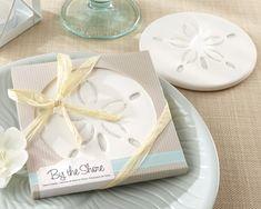 60 Sand Dollar Coaster Wedding Favors Bridal Shower Favor Beach Theme Wedding | eBay