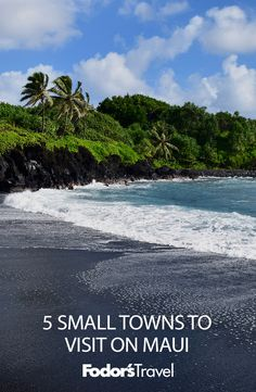 Next time you're on #Maui, stop by some of these towns and really get to know another side of the island paradise. #hawaii #island #travel