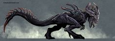 this-xenomorph-t-rex-is-much-more-terrifying-than-the-indominus-rex1