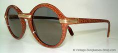 Vintage Cartier Sunglasses. I WANT SOOO BAD!