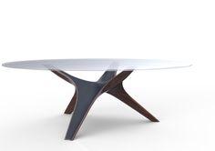 THOMAS POQUET STUDIO - RAY - DINING TABLE - 02