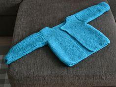 Taaperon neuletakki. Satunnaisesti puikoilla - käsityöblogi. #neulonta