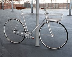 people people's spiran bicycle basket can unfold into safety lock