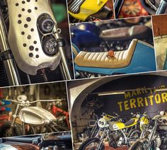 TITAN Motorcycle Company - Mark your territory workshop garage showroom