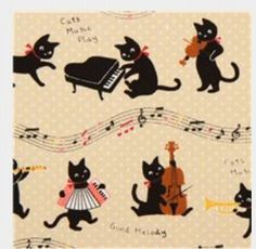 Musicians Cats