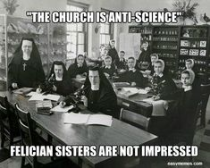 St. Peter's List: 13 Memes on Catholicism & Science