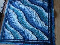 bargello but the quilting makes it look so much different