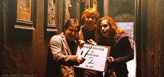 Golden Trio Harry Potter  #harry #ron #hermione