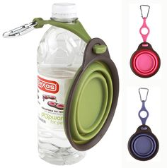 PopWare for Pets Travel Cup with Bottle Holder + Carabiner.