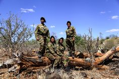 Girl power! Find out more about the all-female anti-poaching unit that is making waves in conservation.