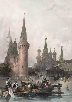 The Church of Vasili Blagennoi, Moscow