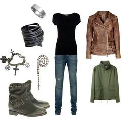 Dean Winchester inspired outfit, this is right up my alley