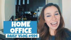 Começando a decorar o Home Office   DAILY VLOG #494 https://youtu.be/6rokI18u_x0