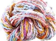 Fairy  Thick and Chunky Art Yarn by LadyPainswick by ladypainswick, $22.00