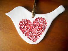 Bilderesultat for ceramic christmas ornaments to make