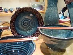 Pottery by Dan Minard and Mickael Mann, Bluff Cove Pottery Holiday Market, Specialty Foods, Gift Guide, Serving Bowls, Dan, Kitchens, Pottery, Cooking, Tableware