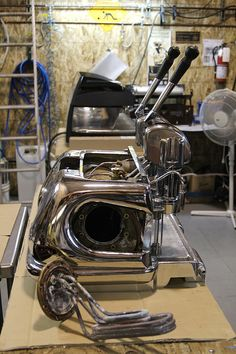 vintage La Marzocco lever