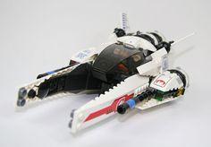 /by kangaeruhito #LEGO #space #Starfighter #MOC