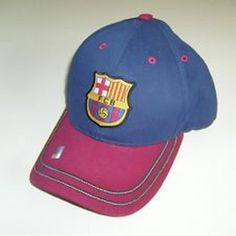 save off 526da e26b2 Official Licensed Two Tone Rhinox Barcelona FCB Spain Soccer Hat Cap   eBay  Trapillo, Gorras