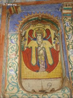 ethiopian orthodox art | Lake Tana Monasteries images -19 صور أديرة بحيرة تانا ...