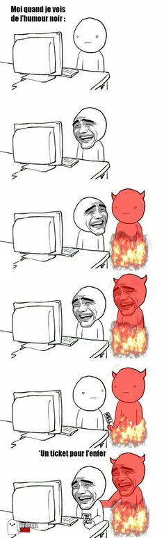 Moi quand je vois de l'humour noir... - Be-troll - vidéos humour, actualité insolite