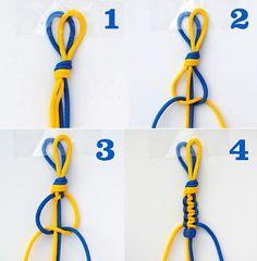 Cómo hacer 6 nudos para pulseras paso a paso