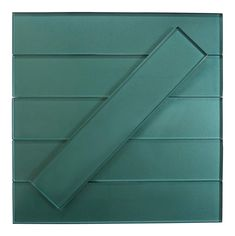 "Lustrous Aquastone Aqua 3"" x 14"" Shimmer Glossy Glass Subway Tile Glass Subway Tile, Tile Installation, Retro Home, Grout, Tile Floor, Aqua, Size 2, Coupon, Ships"