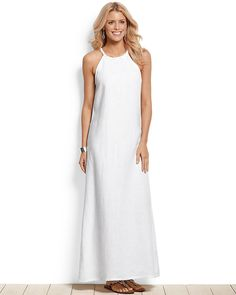 Beautiful braided white maxi dress - Tommy Bahama