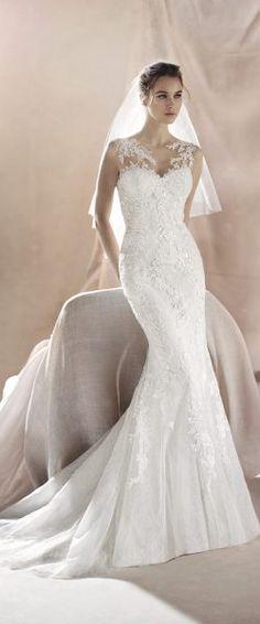 ZULIMA - Mermaid wedding dress, in lace | St. Patrick | St.Patrick ...