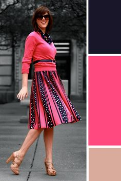 Tumblr Fashion, What I Wore, Jessica Quirk, What I Wore Today, WhatIWore, WIWT, Outfit of the Day, Daily outfit, OOTD, vintage, Paris thrift shopping, how to wear bright pink