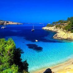 Cala Salada Beach - Ibiza  Spain
