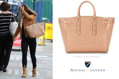Aspinal of London Marylebone Light in Deer Saffiano Bag Pippa Middleton Style, Carole Middleton, Middleton Family, Charlotte Casiraghi, Aspinal Of London, Royal Style, Royal Fashion, British Royals, Role Models