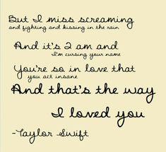 The way i love u quotes
