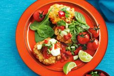These colourful fritters are filled with vegetables and goodness, so they're a great way to sneak something healthy onto the kids' plates.