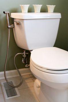 SmarterFresh Hand Held Bidet Sprayer, Premium Stainless Steel Diaper Sprayer Shattaf - Complete Set for Toilet, Hand Sprayer for Bidet Toilet - - Amazon.com