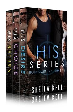 "3D version of ""HIS Series Boxed Set (Volume 1"" by Sheila Kell"