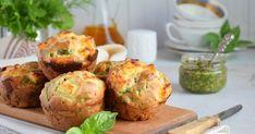 Az édesburgonya és a spenót is jó barátságban van a sós fetával. A muffinban is tökéletesek együtt. Savory Muffins, Zucchini Muffins, Savory Snacks, Feta, Brunch, Light Snacks, Healthy Zucchini, Ricotta, Carrots