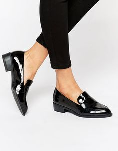 River Island Pointed Patent Shoes