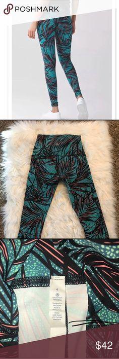 Wunder Under Lulu lemon leggings 7/8 Perfect condition! lululemon athletica Pants Leggings