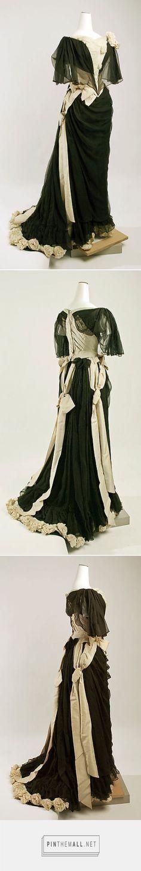 Evening dress by House of Drécoll ca. 1890 Austrian | The Metropolitan Museum of Art