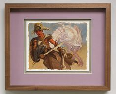 Magic Art of the Day - Pay No Head by Adam Rex -  Check out the owner's gallery here:
