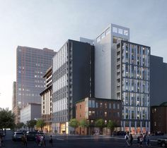 Leasing has officially begun for DVORA 175, a 14-story rental building at 175 Second Street in downtown Jersey City.